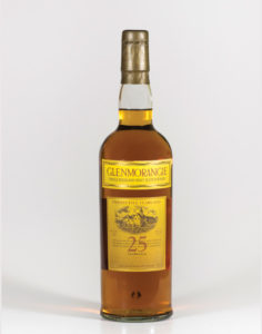 Discontinued bottle of 25 Year Old Glenmorangie that is for sale from The Rare Malt Whisky Company